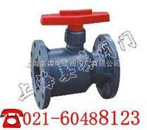 上海塑料球阀、防腐蚀球阀|Q41F法兰塑料球阀厂家