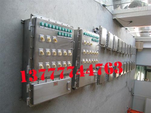 不锈钢防爆控制箱 BXK51不锈钢防爆控制箱