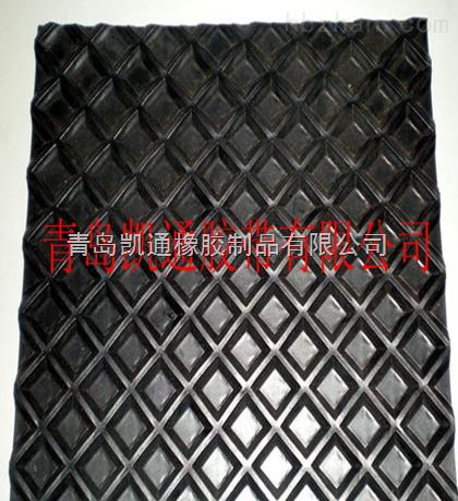 产品简介 推荐到:      青岛凯通胶带有限公司生产的花纹输送带 是由