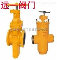 Z47F-10C/Z47F-16C上海产品》燃气闸阀,燃气平板闸阀(手动、气动、电动)价格,结构