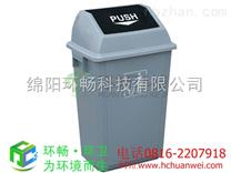重庆地铁站垃圾桶