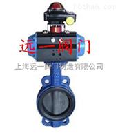 上海產品D671X/J-10/16氣動襯膠蝶閥
