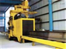 厂家供应H型钢结构抛丸清理机 辊道通过式抛丸清理机 价格实惠