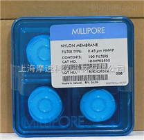 HNWP02500  millipore 尼龙表面滤膜,亲水,0.45 µm,25 mm,白色,光面