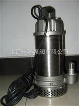 WQ(D)-S全不锈钢精密铸造污水污物潜水电泵|丝口法兰连接