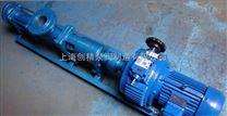 G型齿轮箱的单螺杆泵