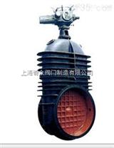 型鑄鐵電動暗杆軟密封閘閥