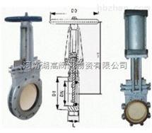 CZ43TC陶瓷刀形闸阀