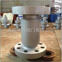 H42Y-420P高压不锈钢球芯止回阀