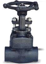 鍛鋼焊接截止閥J61H900lb-1500lb
