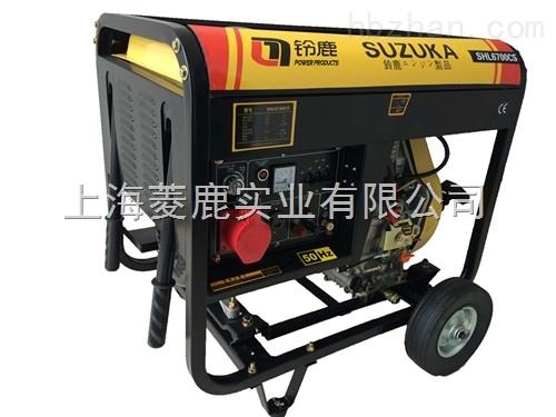 5千瓦三相电开架式柴油发电机