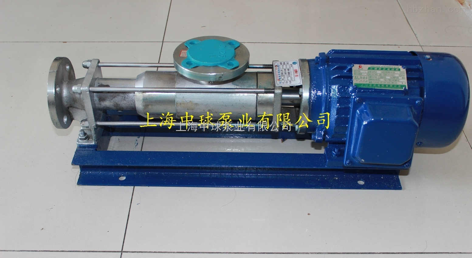 FG15-1不锈钢耐腐蚀螺杆泵
