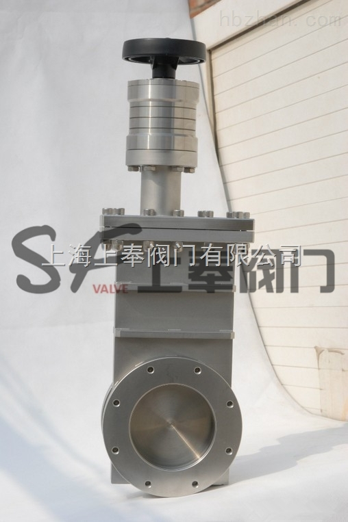 产品库 泵/阀/管件/水箱 阀门 闸阀 cc cc型手动超高真空插板阀  更新图片