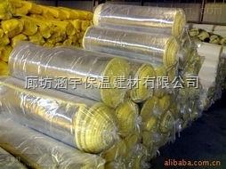 36kg防火玻璃棉卷毡价格
