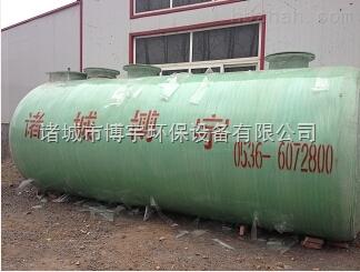 供应北京玻璃钢一体化污水处理装置