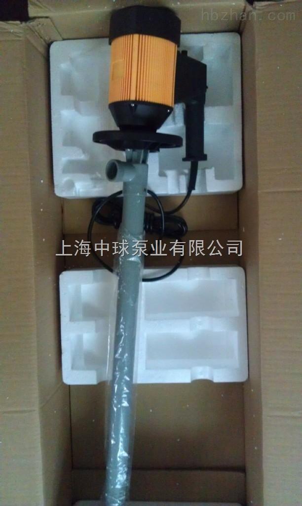 耐腐蚀电动插桶泵