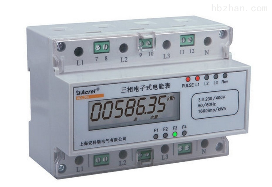 安科瑞三相数显带分时段计量智能电能表