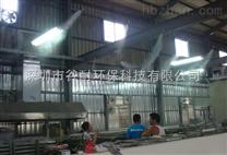 厂房喷雾降温通风系统