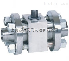 Q61N锻钢焊接高压球阀