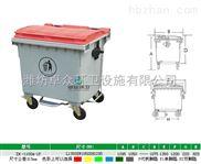 【潍坊物业垃圾桶】潍坊塑料垃圾桶