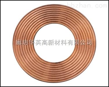 退火齿形紫铜垫,紫铜密封垫圈供应厂家