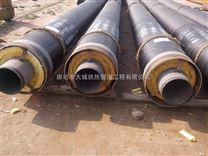 鋼套鋼預製直埋蒸汽管直埋蒸汽保溫玻璃棉管