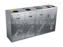 深圳不锈钢五分类垃圾桶