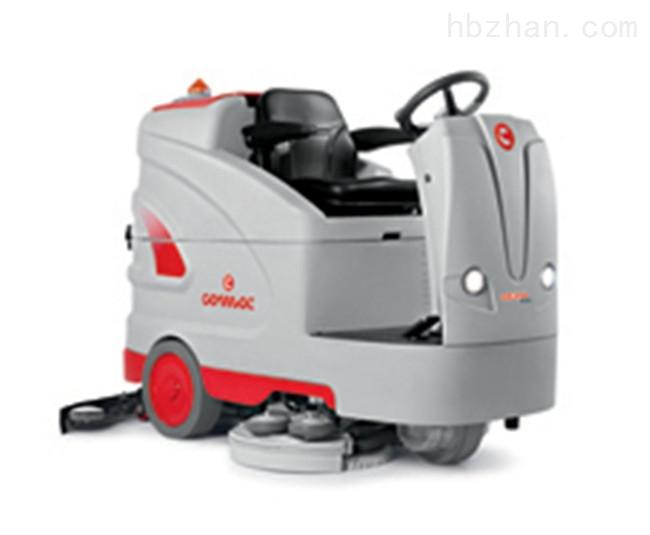 电瓶驾驶式自动洗地机进口品牌