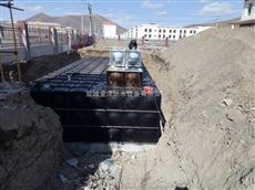 安徽阜南地埋增压箱泵一体化泵站