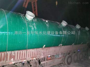 鹤岗一体化污水处理设备报价单
