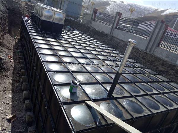 天津滨海地埋式箱泵一体化300立方顺利竣工