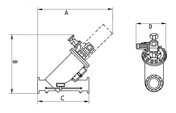 不锈钢全自动自清洗压差过滤器结构原理