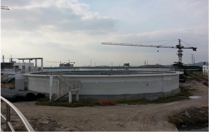 5月底的东莞污水池加盖工程