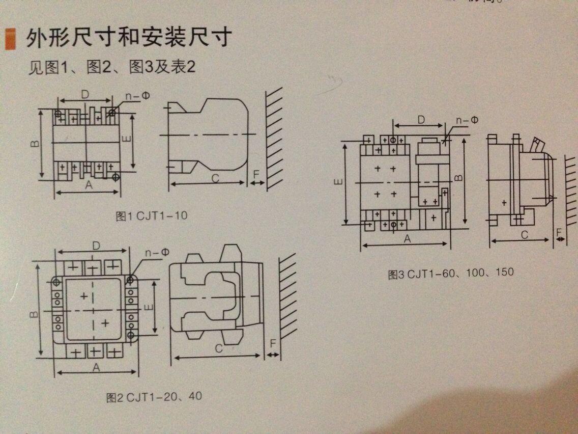 交流接触器cjx2-0901
