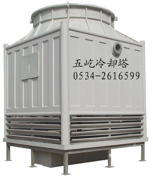 填料断面气流速度一般为1.0~1.2m/s,比机械通风冷却塔气流速度要小.