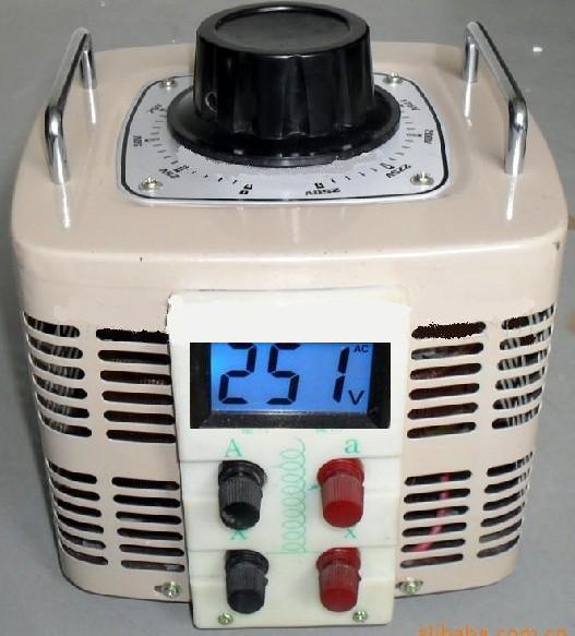 5kva厂家直销tdgc2-0.5kva接触式单相交流变压调压器新型