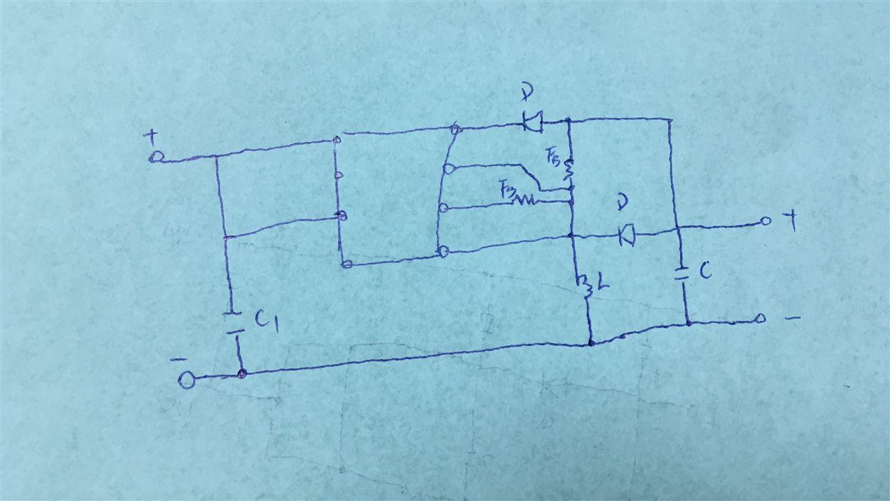 220v转5v电源电路图 220v转5v-220v转5v电源电路图
