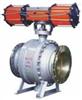 Q341F固定式涡轮球阀
